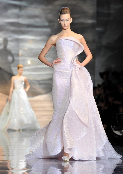 Paris Fashion Week Haute Couture S/S 2010 - Giorgio Armani Prive - Runway