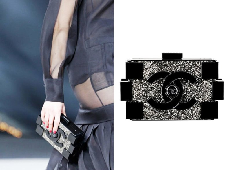 Chanel-Black-with-Crystals-Lego-Clutch-Bag-Fall-2013