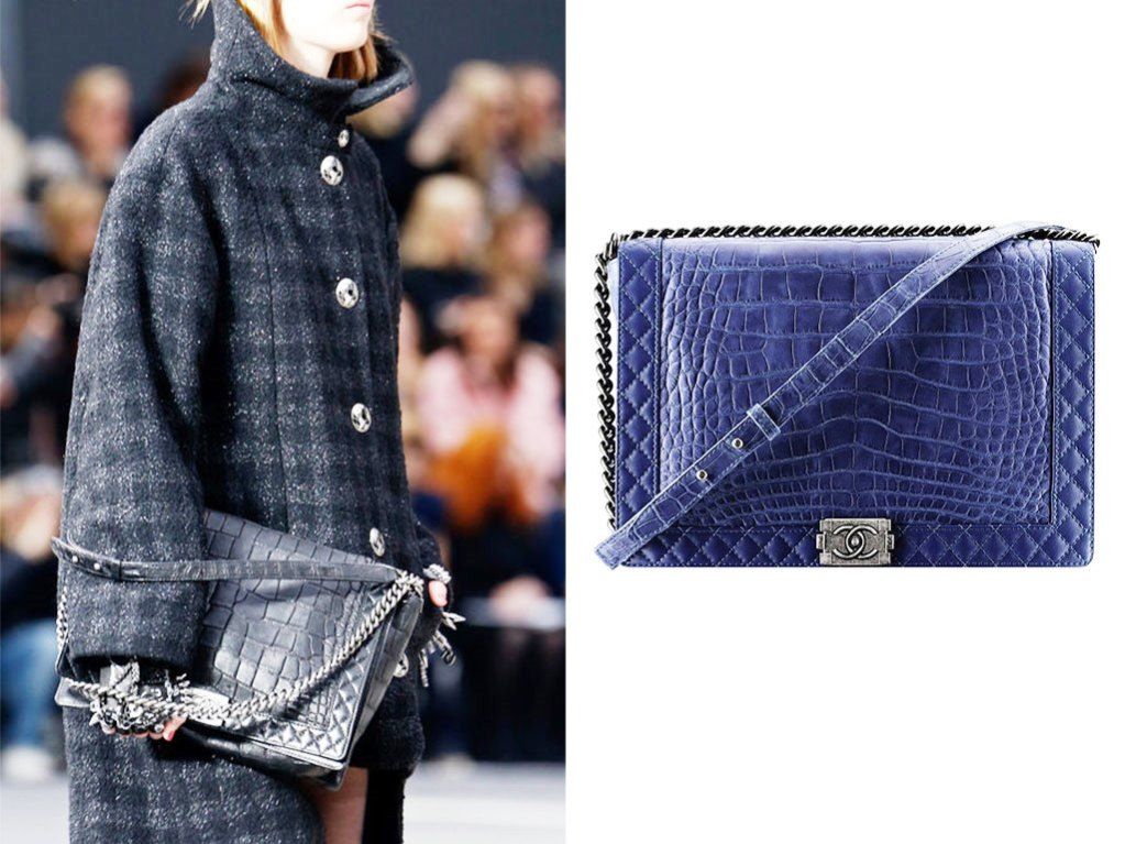 Chanel-Blue-Crocodile-Boy-Chanel-Exotic-Large-Bag-Fall-2013