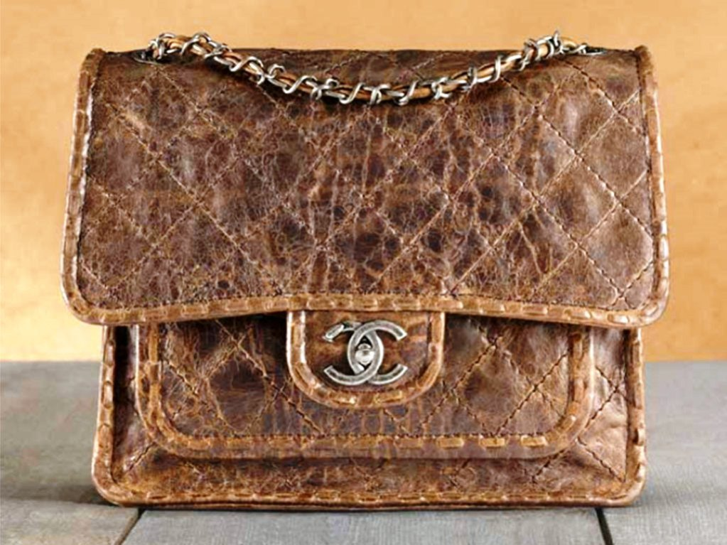 Chanel-Brown-Vintage-Messenger-Bag