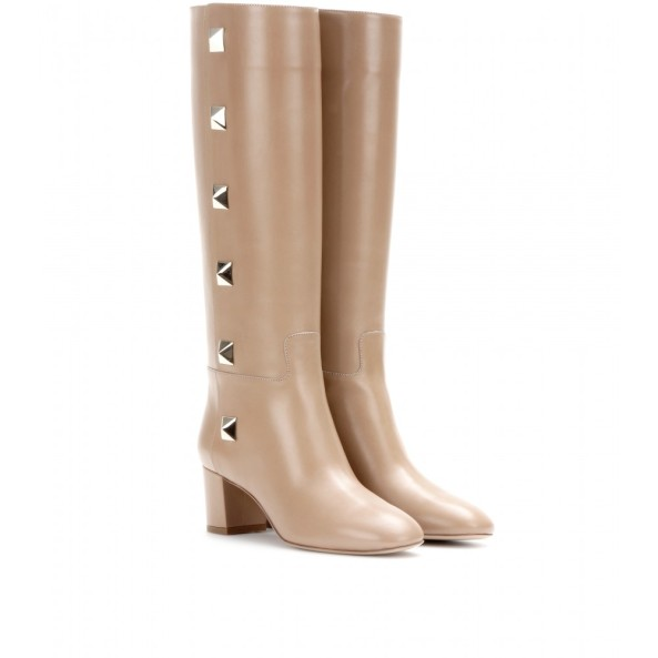 P00072647-Leather-knee-high-boots-STANDARD