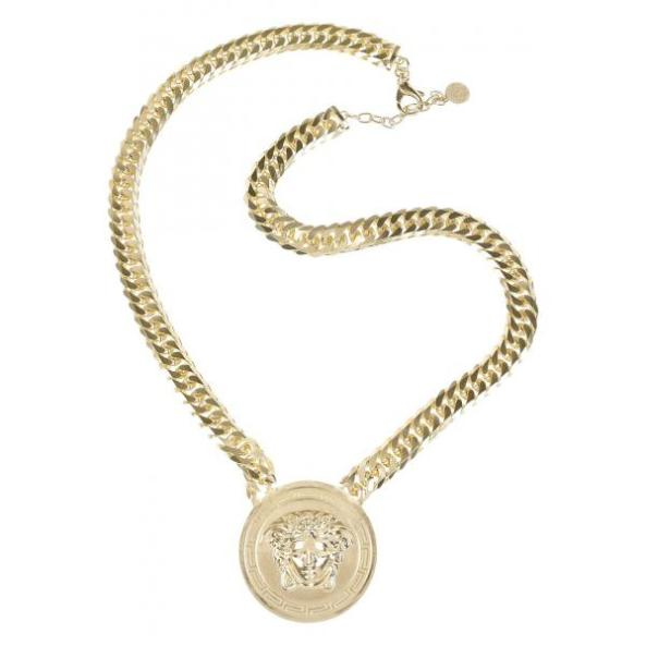314878-Versace-Chunky-pendant-necklace-1